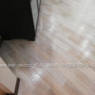 Массив дуба. Брашированная доска из массива дуба, сорт Рустик+ покраска маслом OSMO