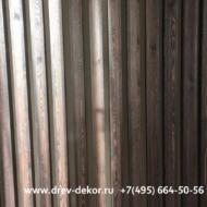Декоративные фальшбалки и рейки из Ангарской Сосны. Квартира в городе Видное.
